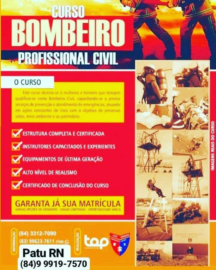 CURSO BOMBEIRO PROFISSIONAL CIVIL