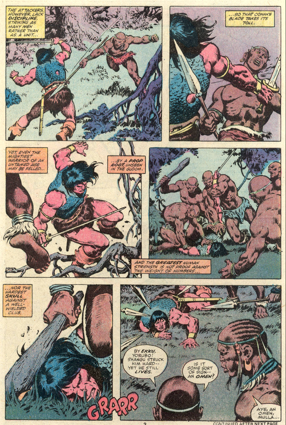 Conan the Barbarian (1970) Issue #101 #113 - English 4