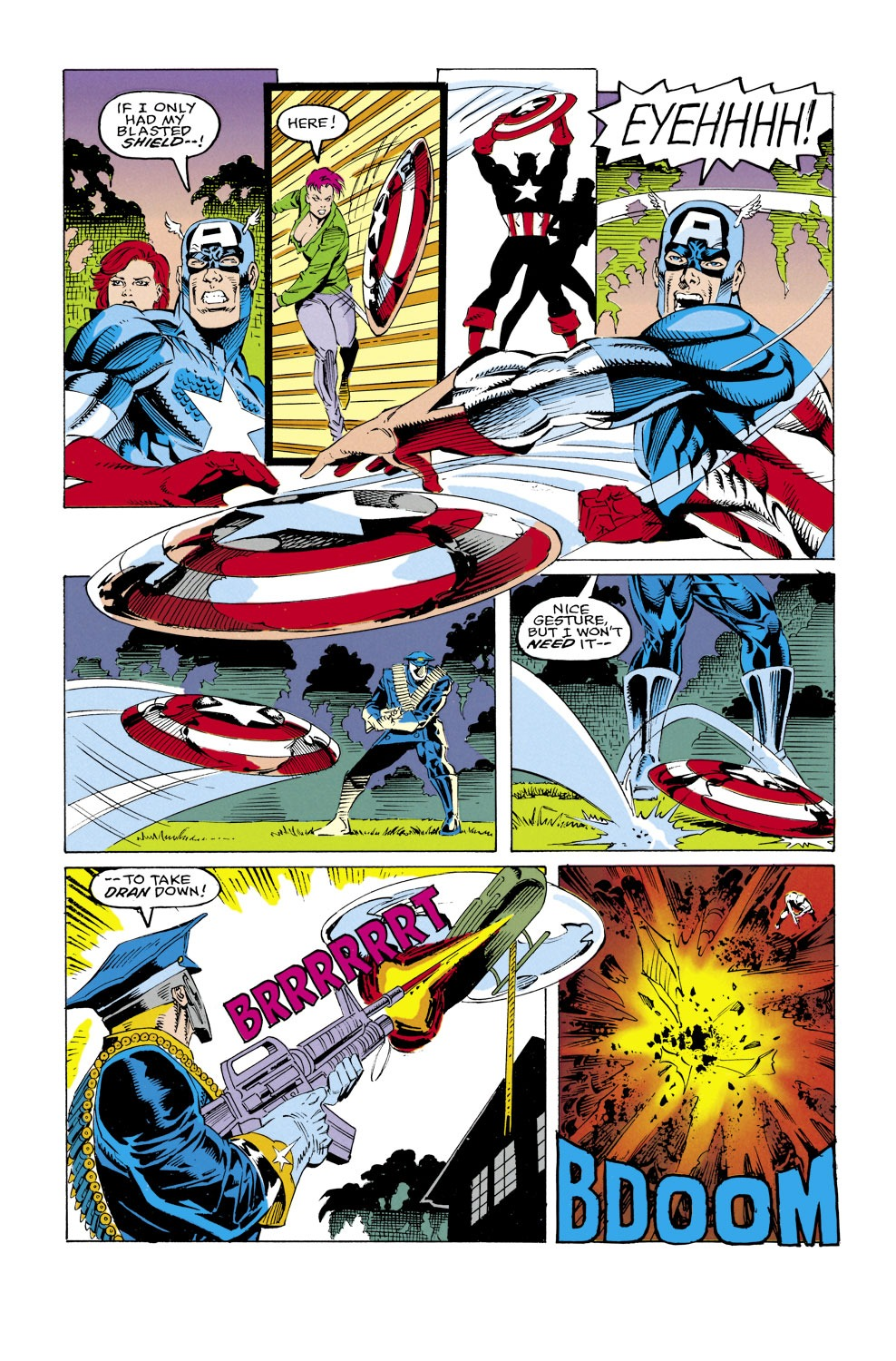 Captain America (1968) Issue #430 #380 - English 21