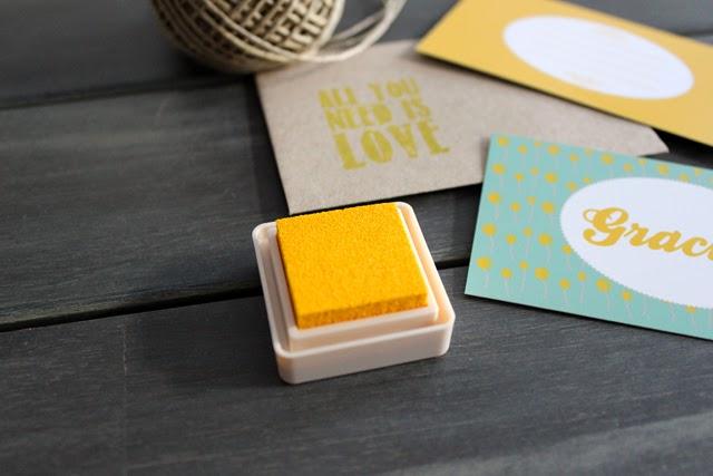 detalles de boda tinta para sellos