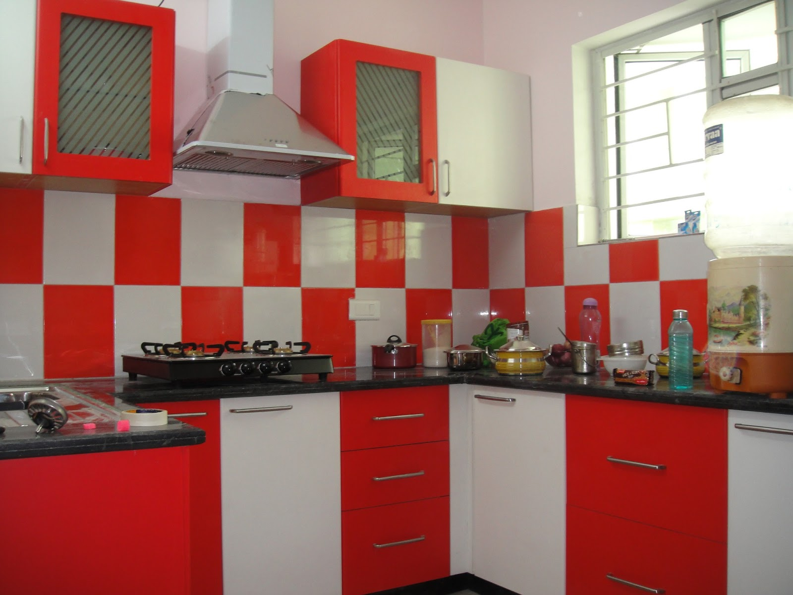 Modular kitchen designs of modular kitchen for Modern kitchen design tamilnadu