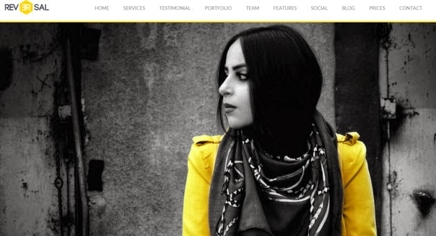 Parallax One Page Drupal Theme