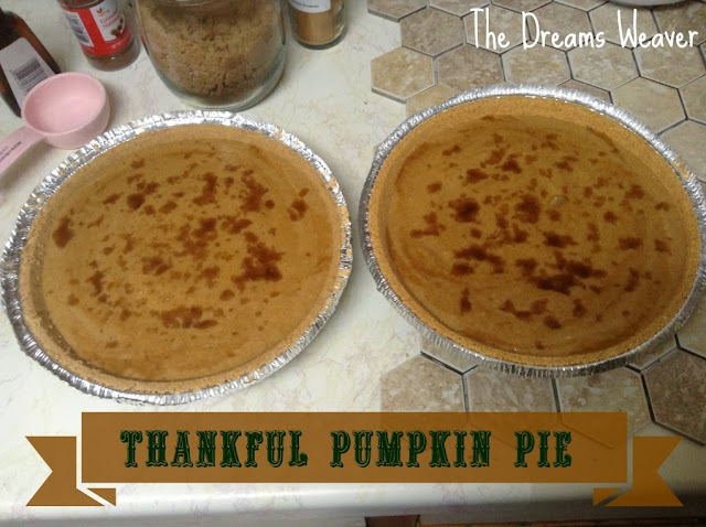 Thankful Pumpkin Pie - The Dreams Weaver