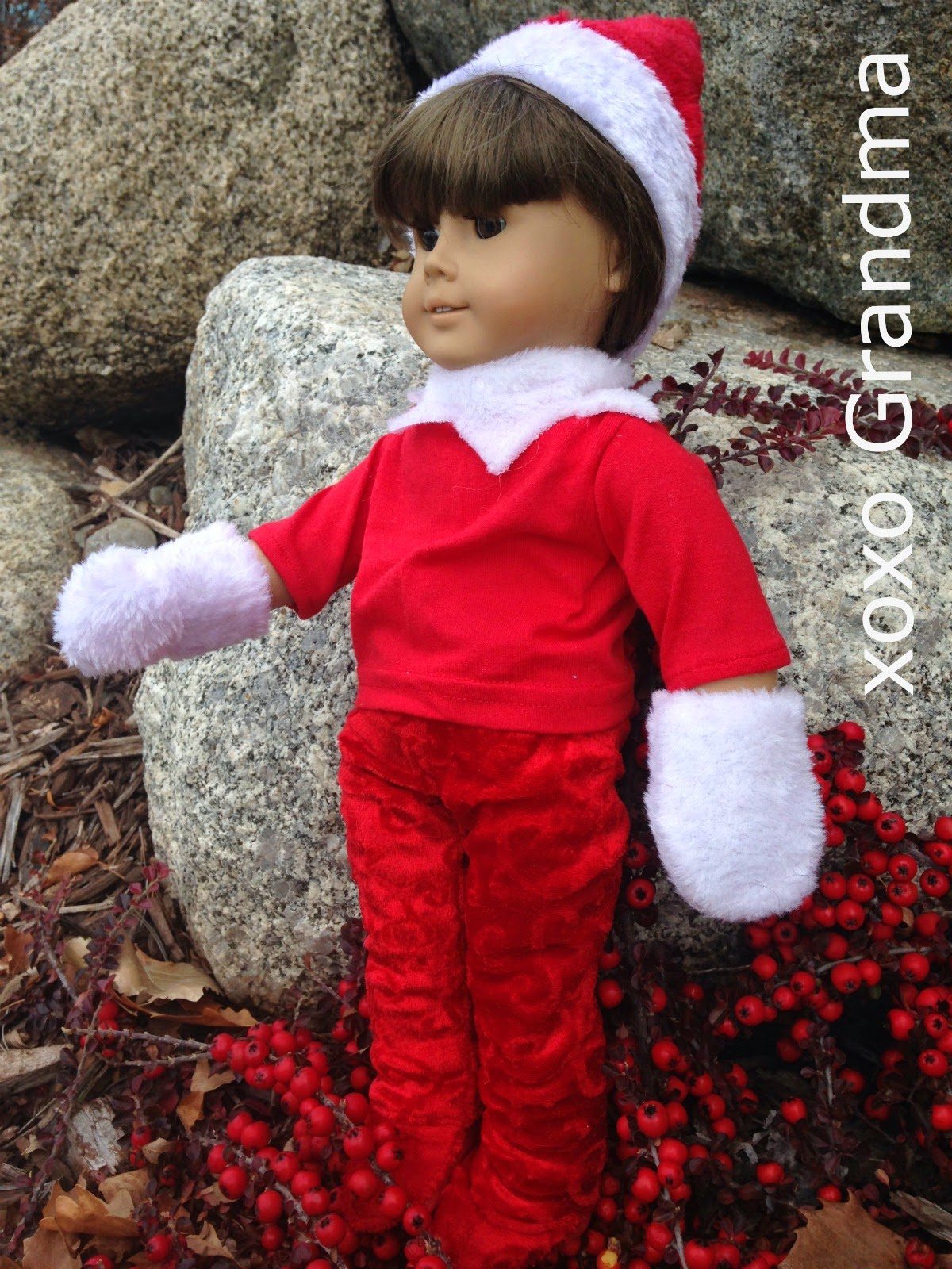 http://xoxograndma.blogspot.com/2014/12/dollar-store-purchase-doll-elf-outfit.html