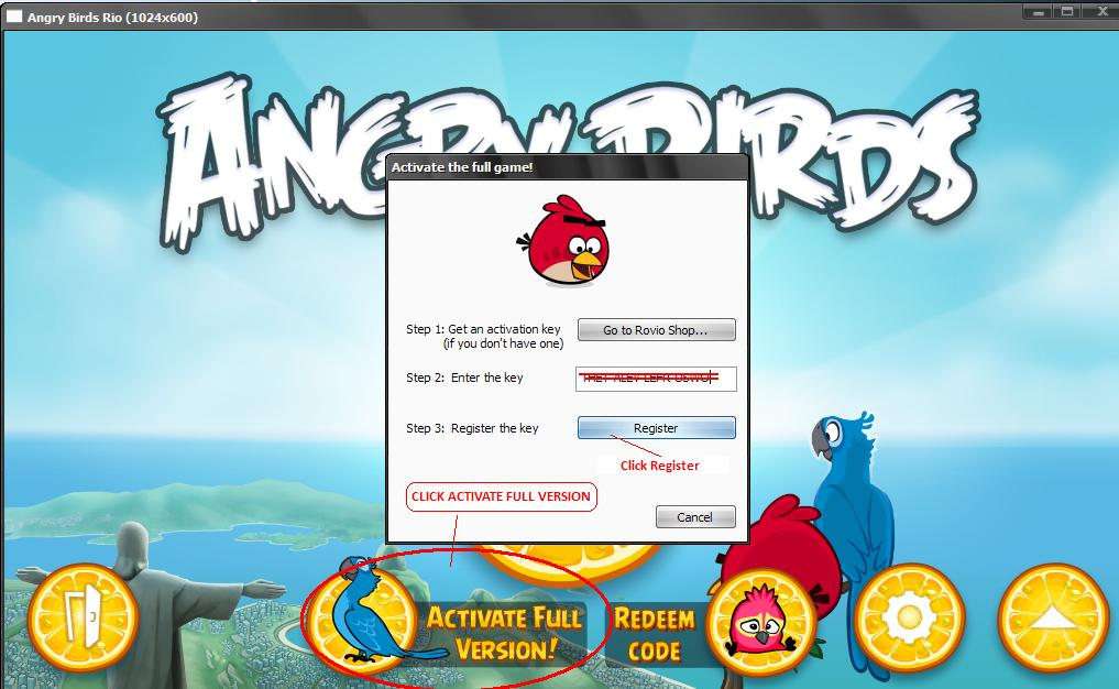 ... Angry Birds - Angry Birds Rio Full with Working Patch and Serial By