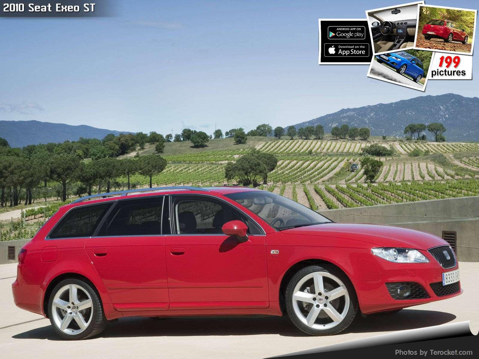Hình ảnh xe ô tô Seat Exeo ST 2010 & nội ngoại thất
