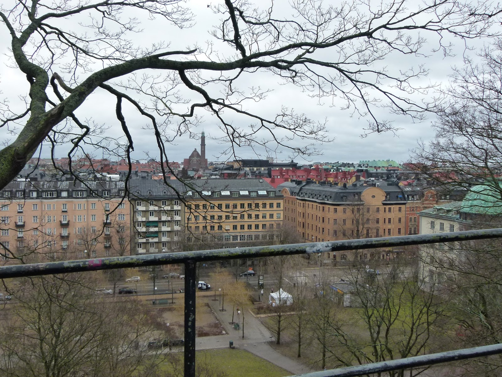 View from Observatorielunden Stockholm