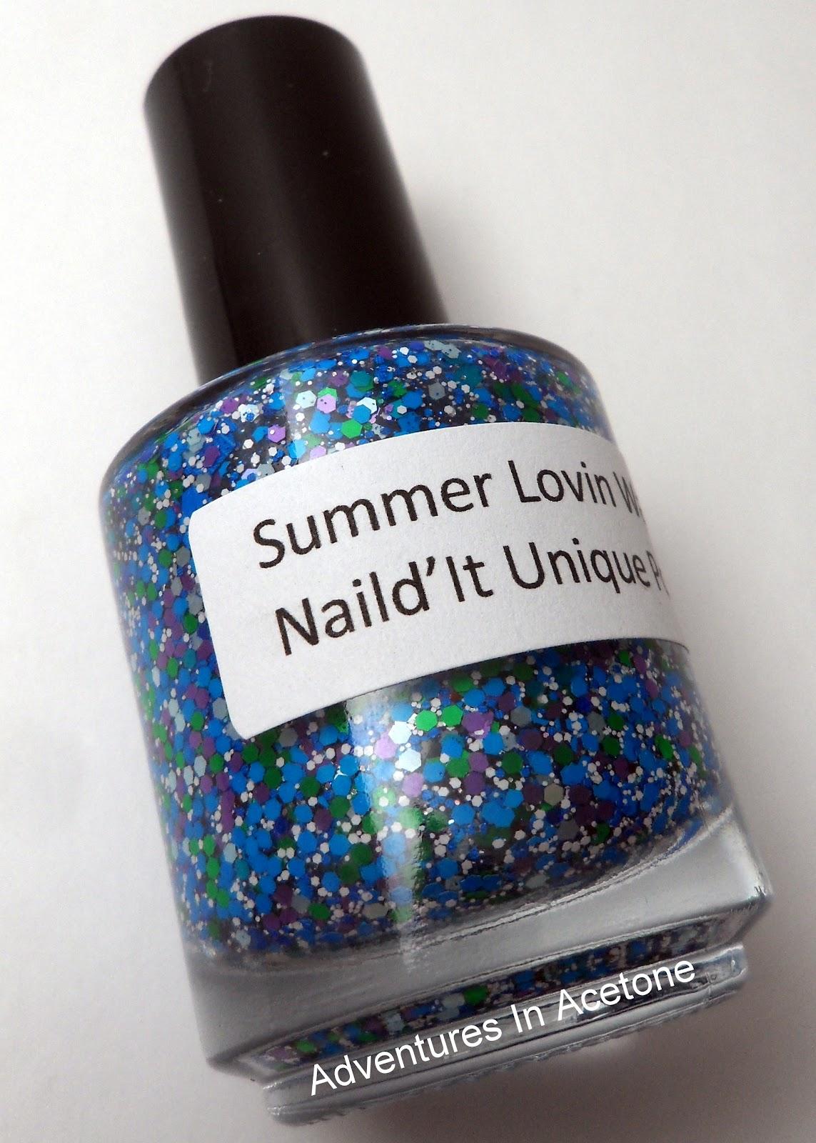 Naild\'it Summer Lovin Water! - Adventures In Acetone