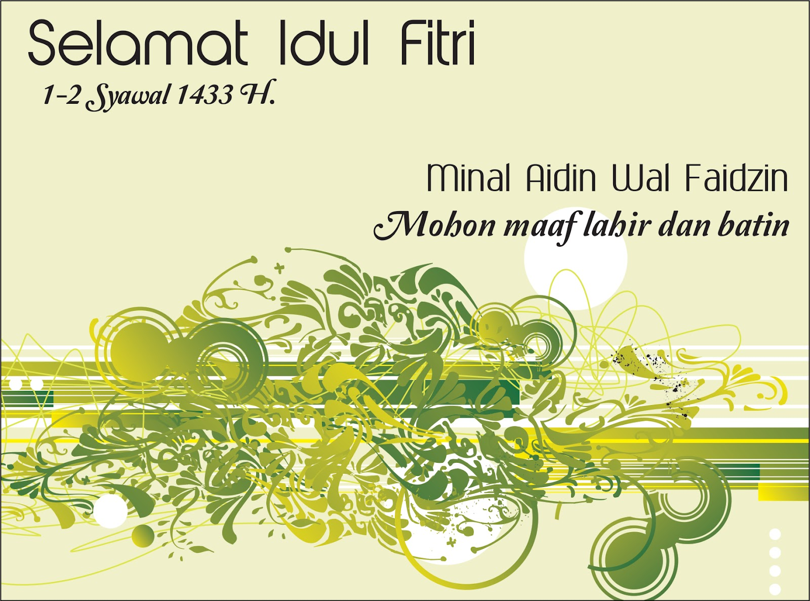 Download file Corel Draw Desain Kartu Lebaran 2012