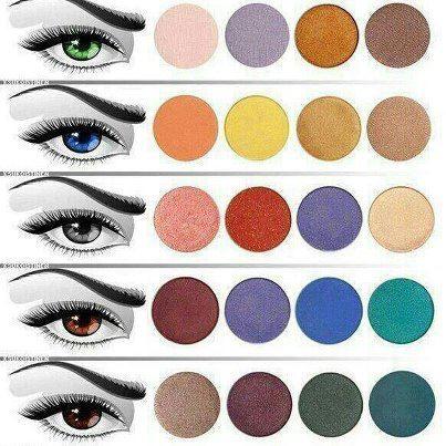 colores para maquillar los ojos segn tono de la piel