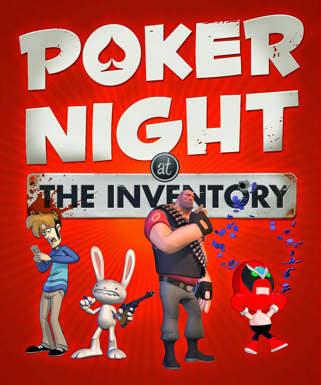 Poker Night At The Inventory Full