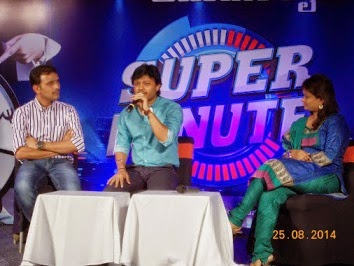 One minute game show with Kanada Superstar GANESH on ETv