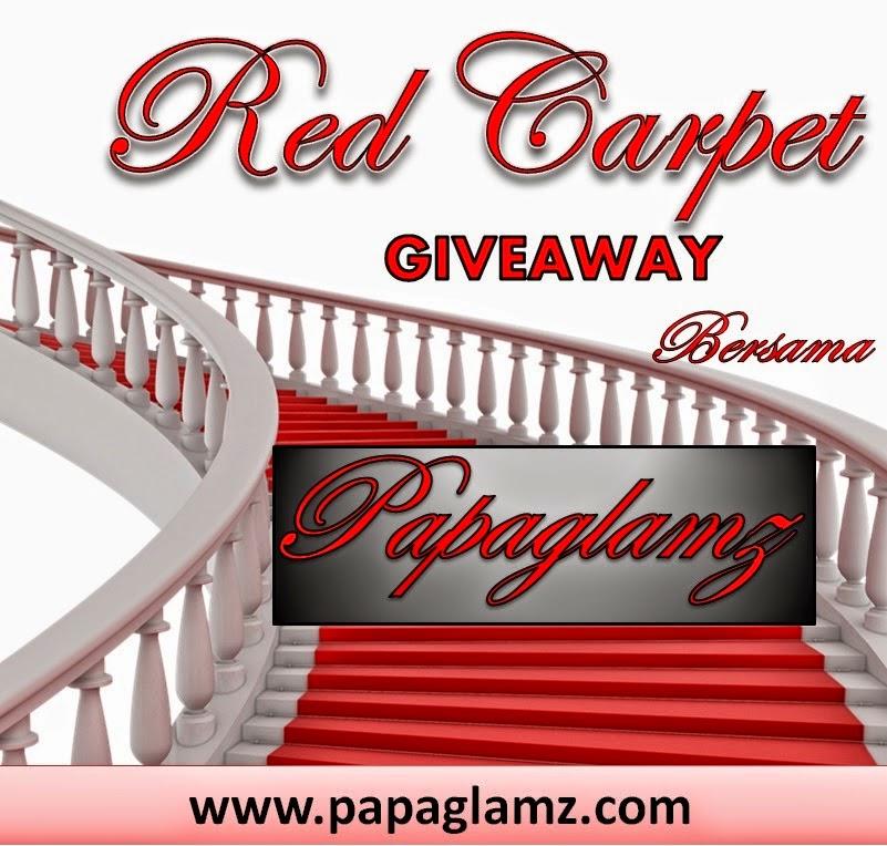 red carpet, papaglamz, giveaway, hadiah lumayan, peserta giveaway