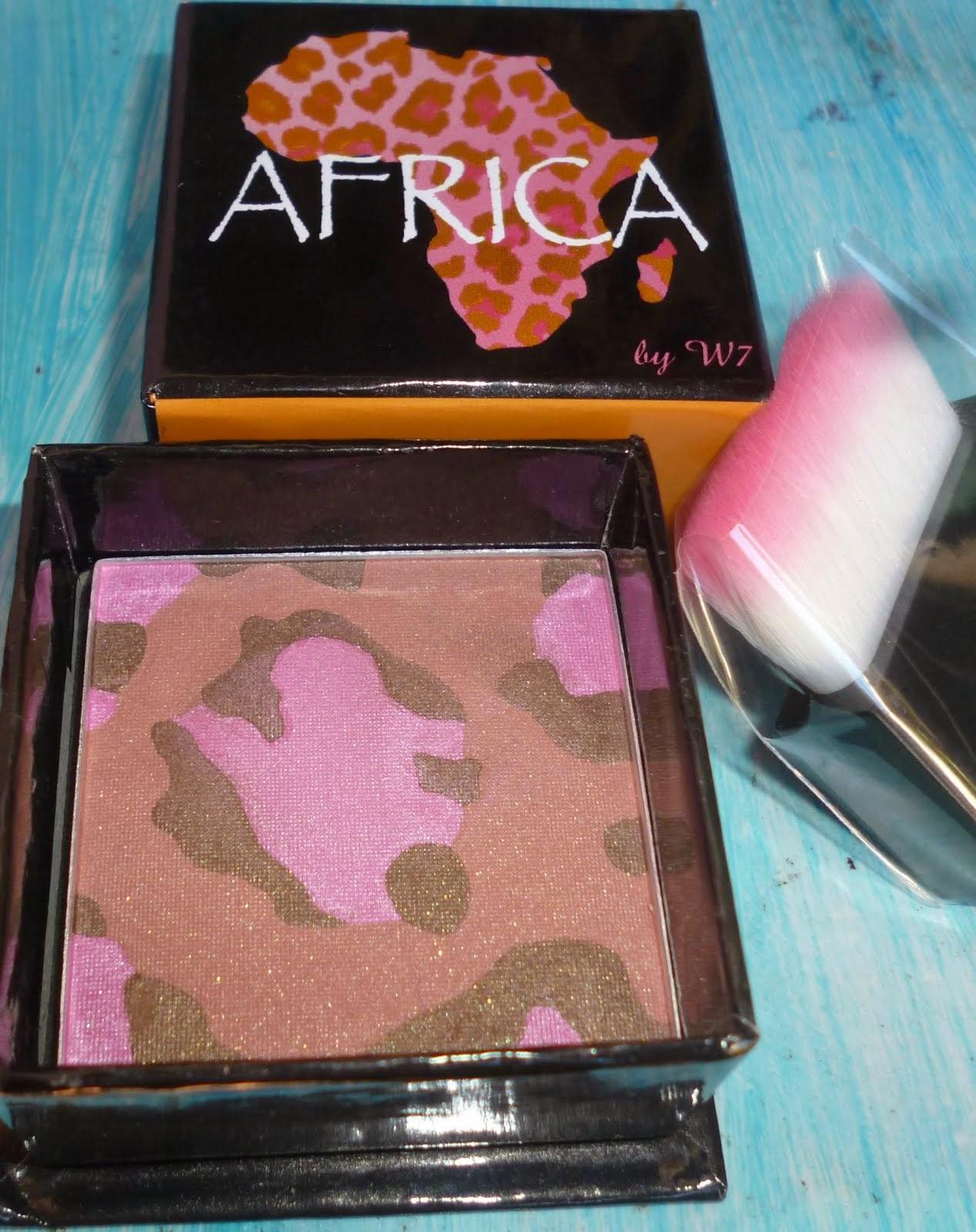 W7 AFRICA BRONZER