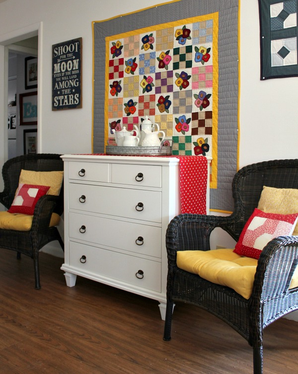 Living Room Quilts a recent wayfair acquisition for the living room | cozy little house