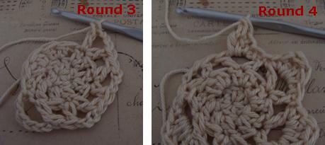 Crochet star - free crochet pattern