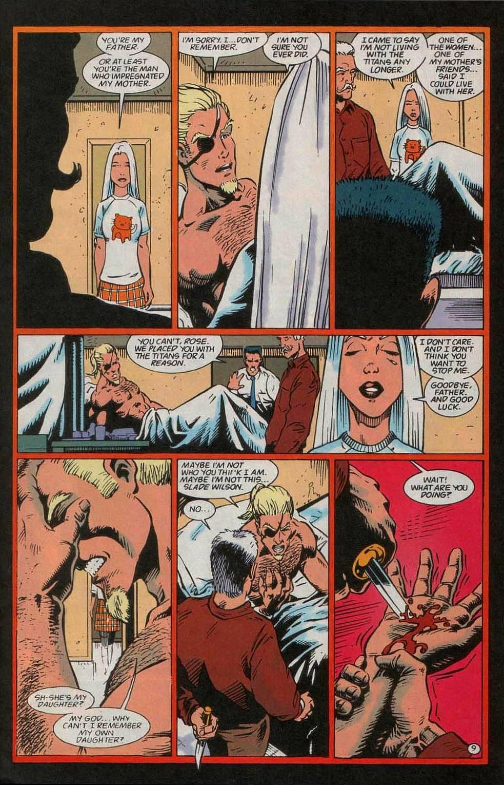 Deathstroke (1991) Issue #55 #60 - English 10