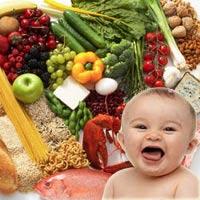 Bé ăn dặm và thực phẩm tăng IQ