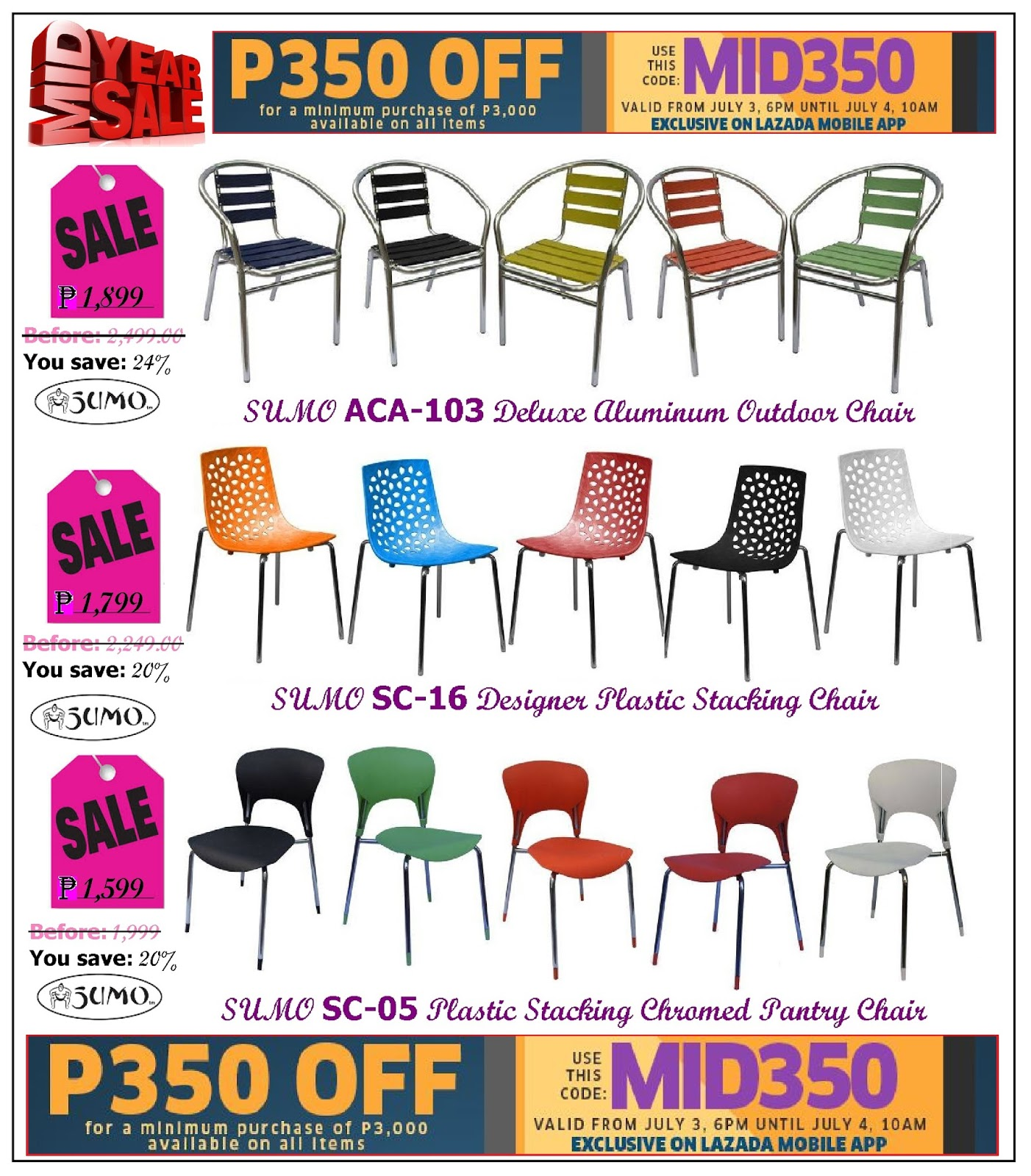 Perfect Restaurant Furniture Stacking Chairs Sale Lazadau0027s Mid Year Sale