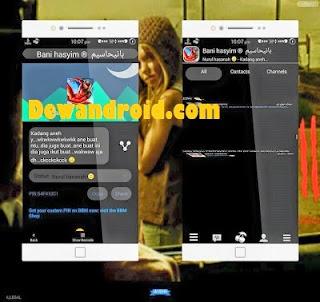 BBM Mod Style BlacCherry Versi 2.8.0.21 with SwithFull DP+ListAnime