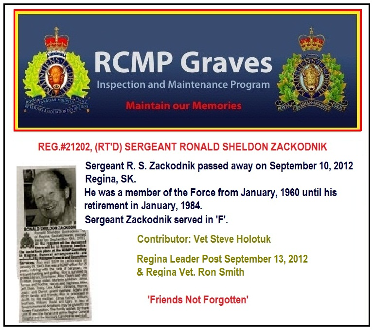 Info Post Site: RCMP/GRC Grave Discovery & Information Website: Www
