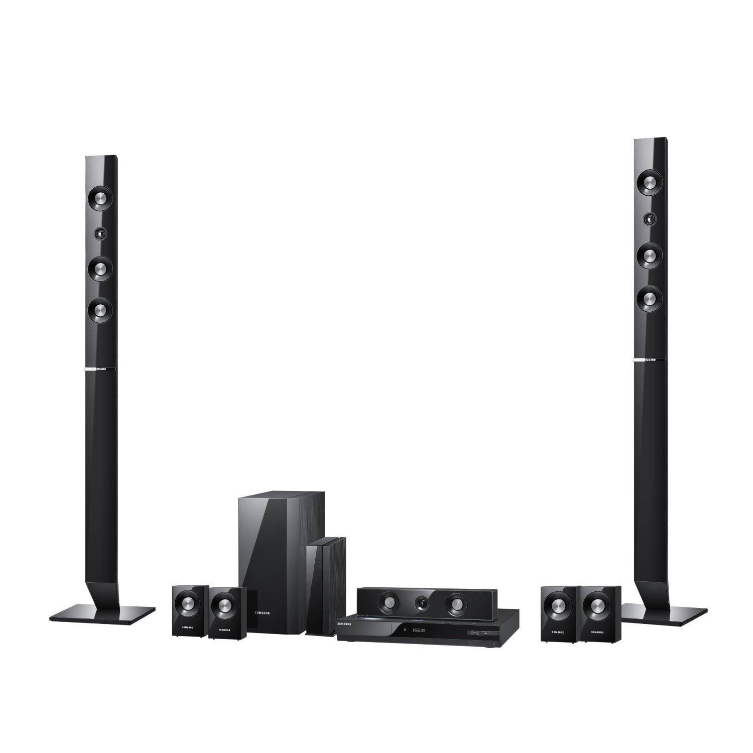 Samsung 51 surround sound home theater system model htd550