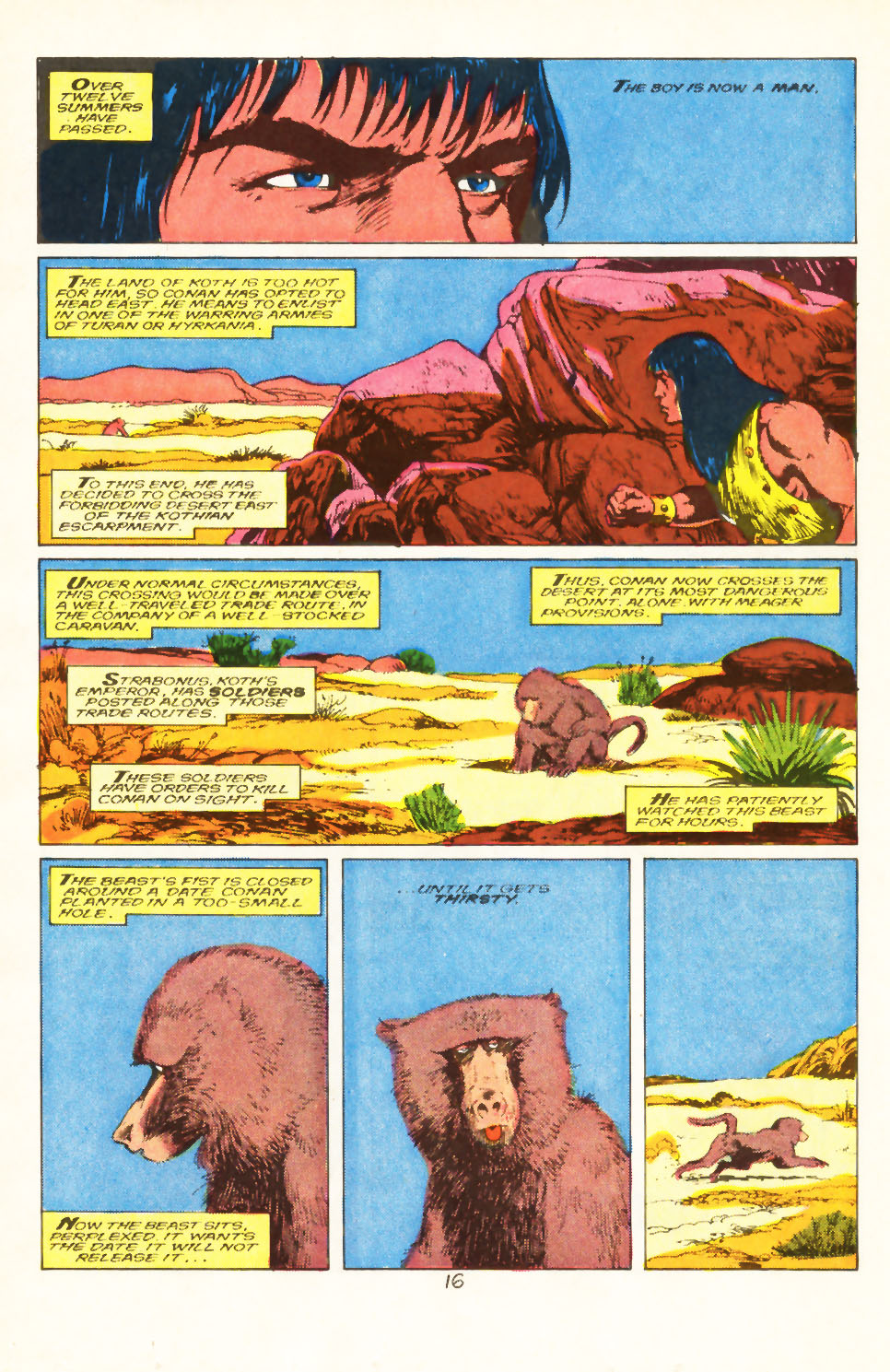 Conan the Barbarian (1970) Issue #211 #223 - English 13