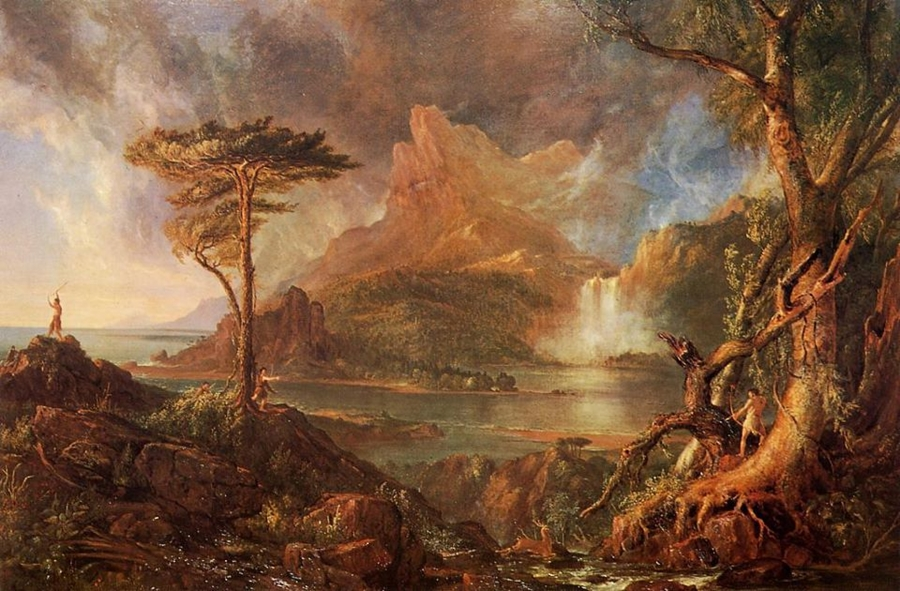 painter thomas cole 2 essay Kids learn about the romanticism art movement and its major artists such as caspar  an english romantic painter who was also a philosopher and poet thomas cole.