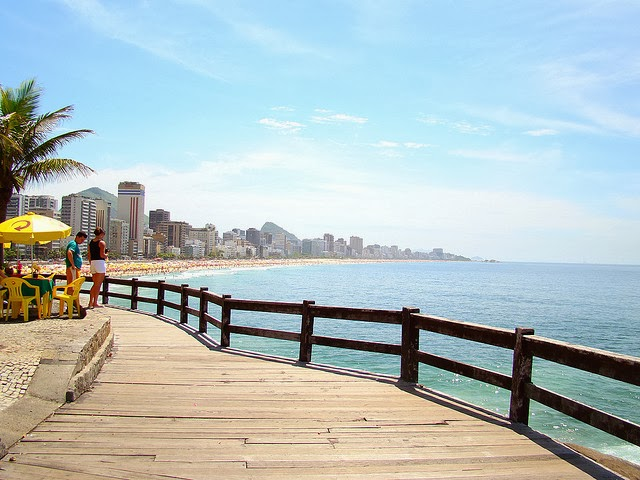 Tour de praias do Rio de Janeiro - Vista do mirante do Leblon