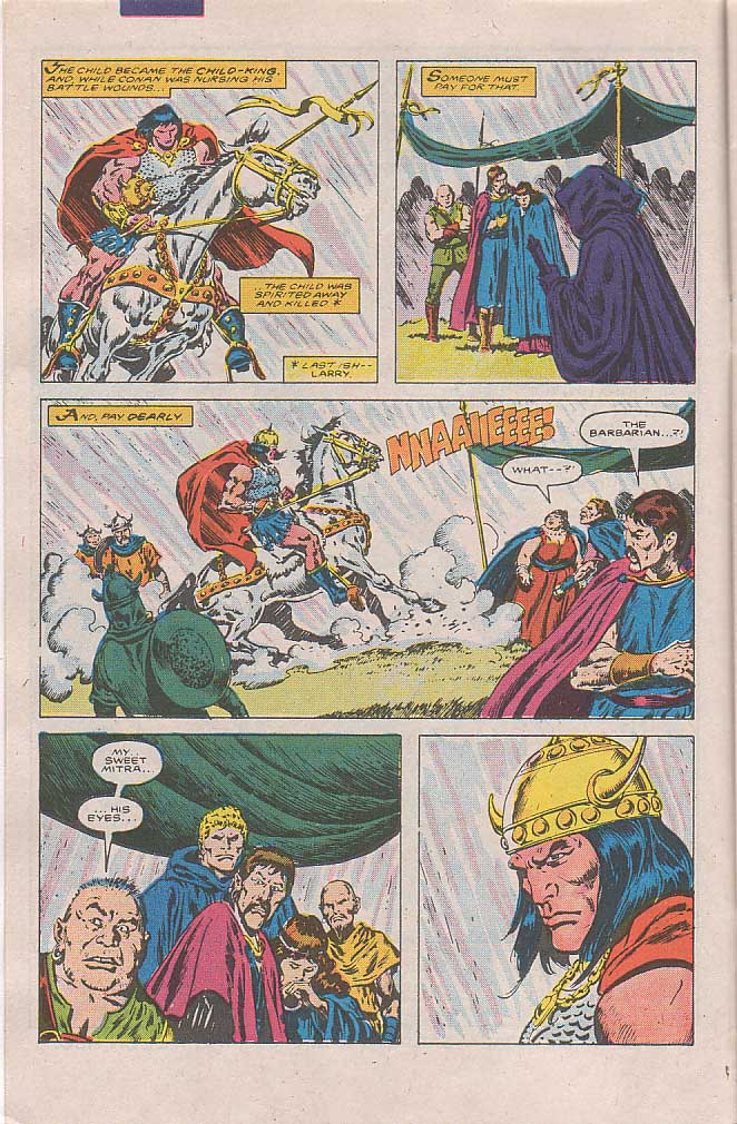 Conan the Barbarian (1970) Issue #189 #201 - English 5
