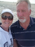 Larry and I down the road at Carolina Beach