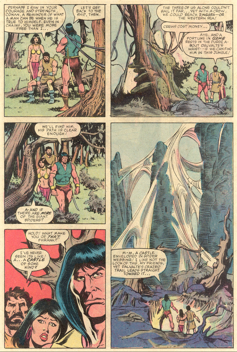 Conan the Barbarian (1970) Issue #141 #153 - English 7