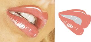 tutorial+vector+corel+draw/warna+bibir