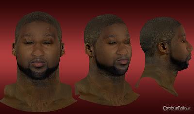 NBA 2K13 Raymond Felton Cyberface Mod