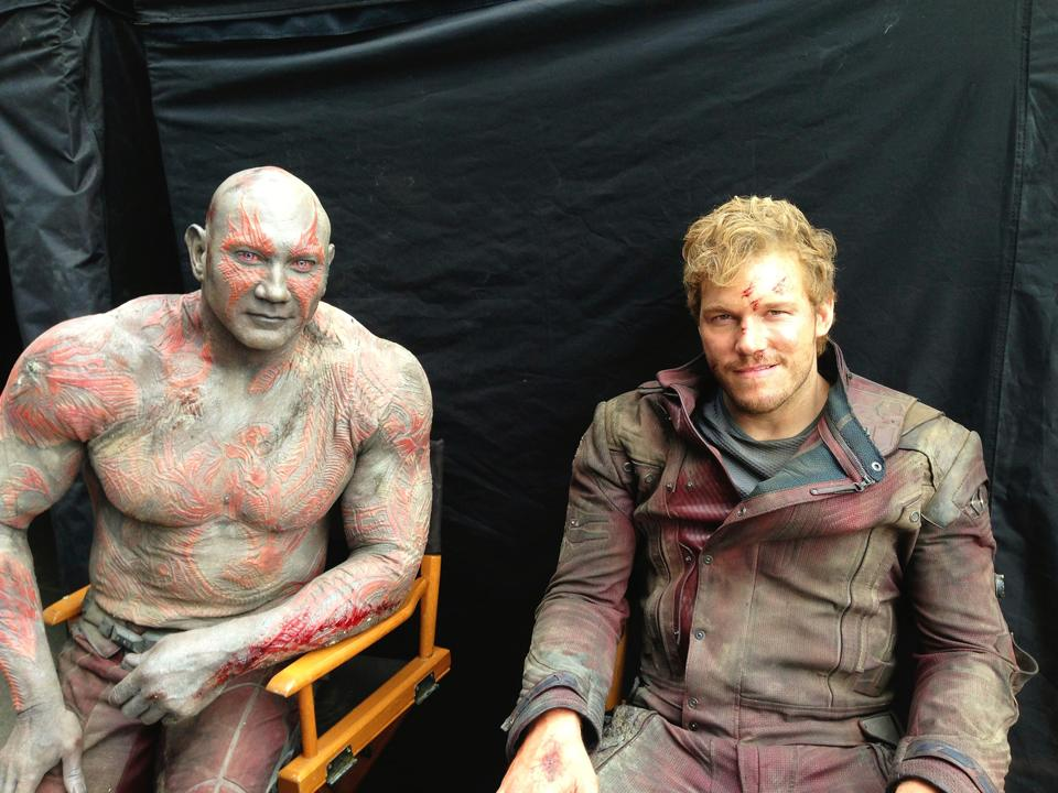 DRAX Y STAR-LORD