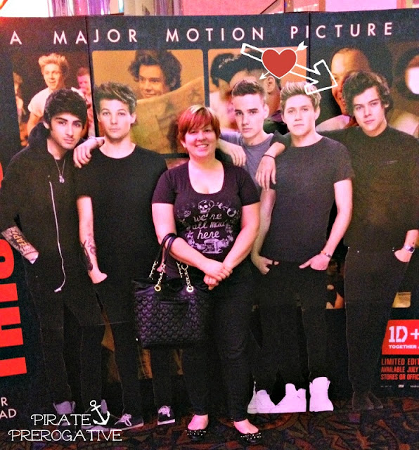 One direction photo op,