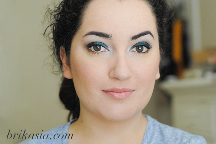 blue smoky eye, how to do a smoky eye with navy blue
