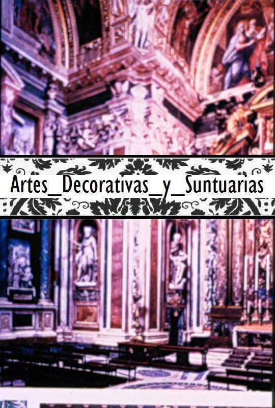 Artes decorativas y suntuarias