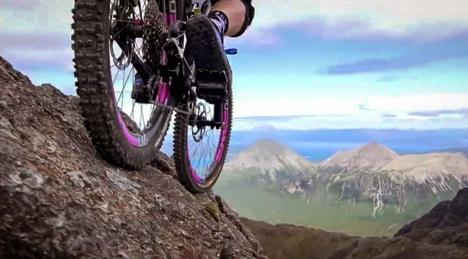 Danny macaskill is also known as inspiredbicycles -- http://wwwyoutubecom/user/inspiredbicycles