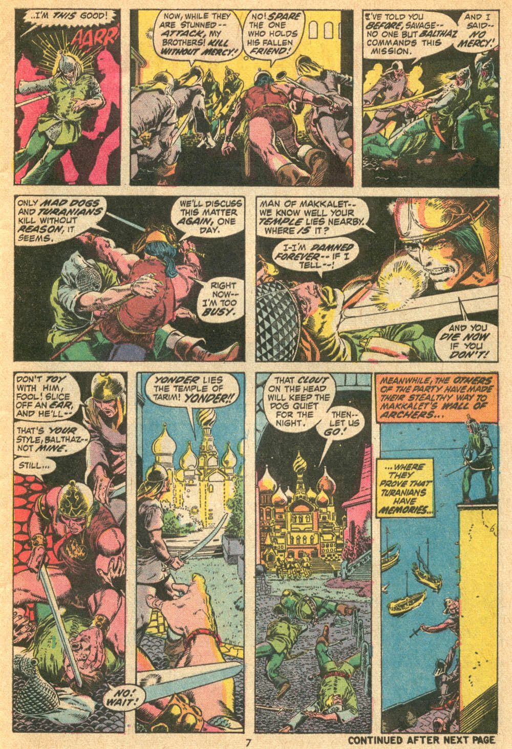 Conan the Barbarian (1970) Issue #20 #32 - English 7
