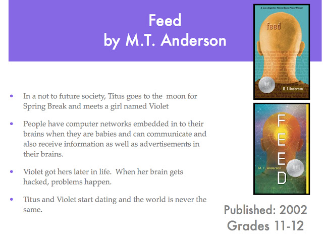feed mt anderson environment Invitation to the feed: the body and the environment in a selection of dystopian ya science fictions.