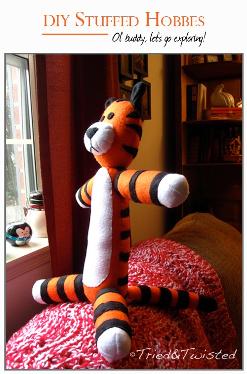 DIY Stuffed Hobbes tutorial and tips | Tried and Twisted