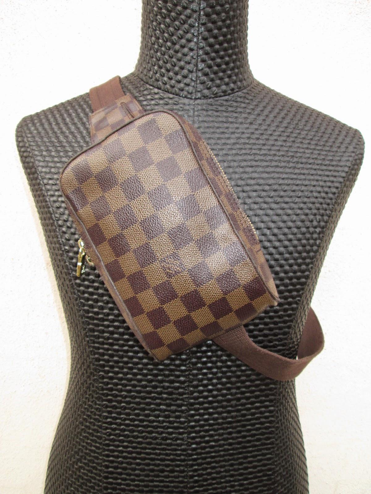 d0rayakEEbaG  Louis Vuitton Damier Ebene Geronimos Belt Bag(SOLD) 16d2370a712a8