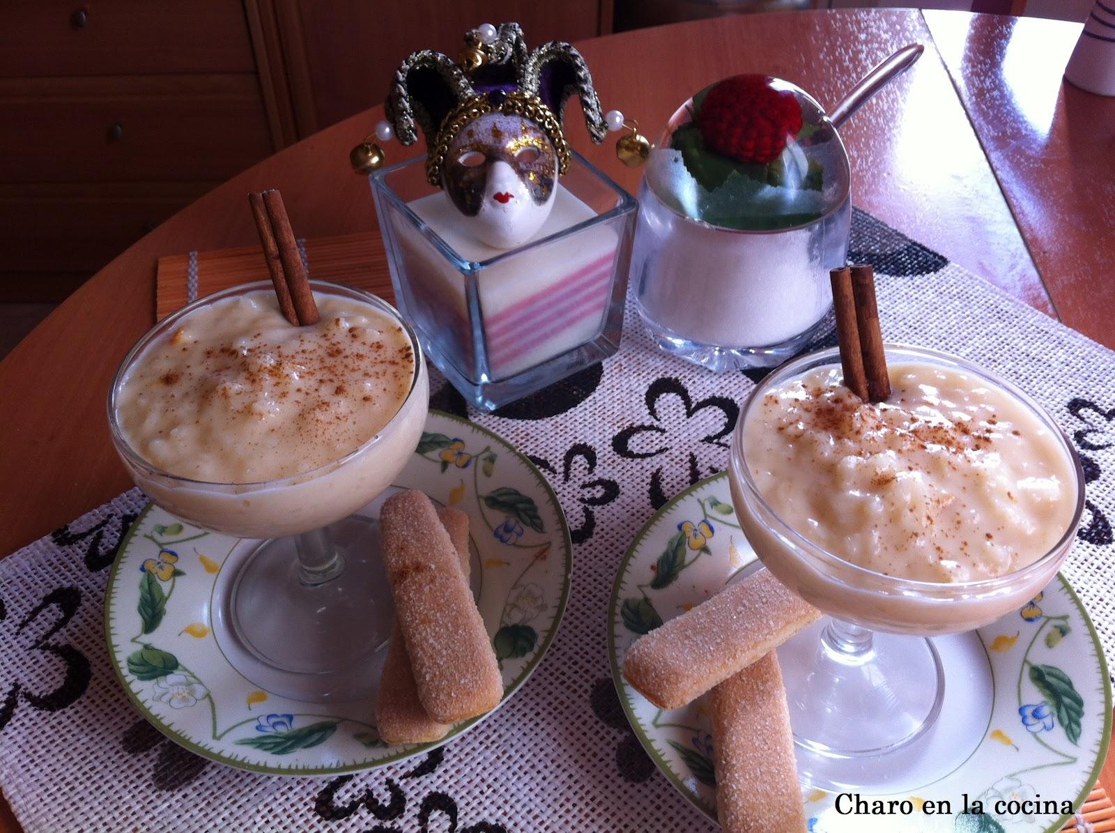Charo en la cocina arroz con leche en olla express - Judias pintas con arroz olla express ...