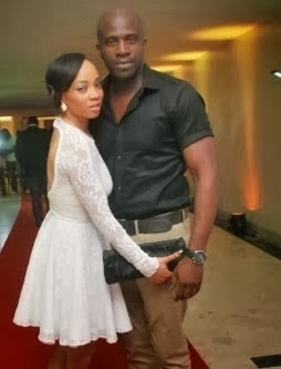 Toke Makinwa, Maje Ayida's Secret Nigerian Wedding before and after