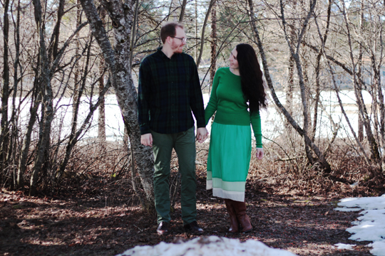 green outfits for St. Patrick's Day