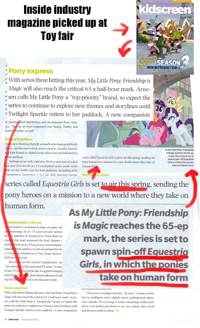 Very possible spin off series in the spring. Mlpgirls