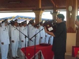Akhir Masa Jabatan Bupati Sumedang Don Murdono, Lantik 62 Kepala Desa