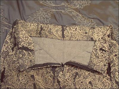 dressmaking: waistband