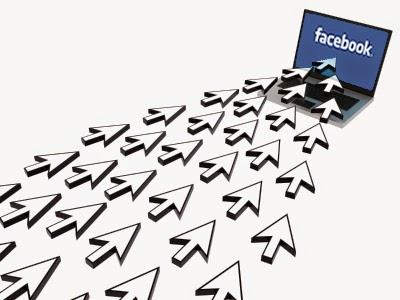 facebook, traffic blog, visitor
